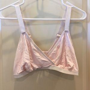 Cross over nursing bra from Target